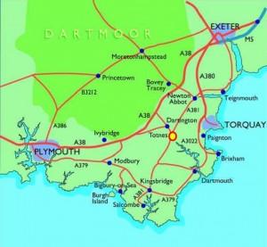 Devon Map 2